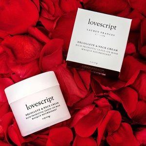 Lovescript Décolleté & Neck Cream